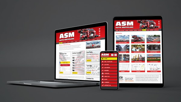 ASM Auto Recycling device mockups